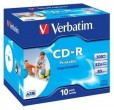 Disks CD-R Verbatim 700MB 48X Super Azo, printable