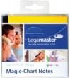 Statiskās lapiņas Legamaster ''Magic-Chart Notes'' yellow